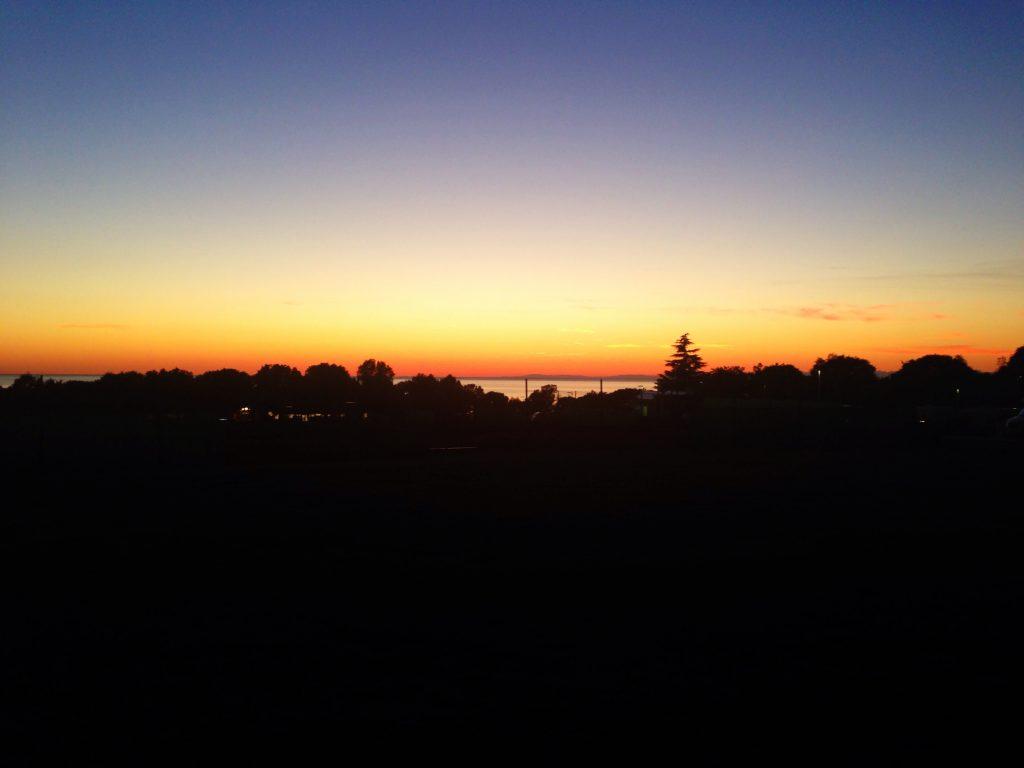 Kroatien Sonnenuntergang