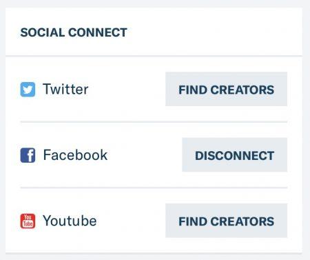 Find Creators auf Patreon